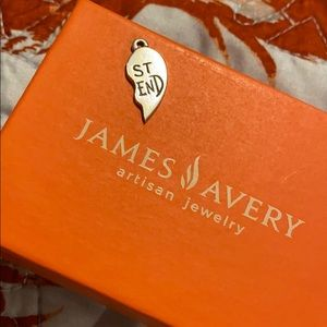 James Avery retired have heart best friend charm.
